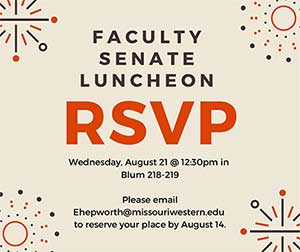 Faculty Senate Luncheon