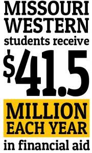Missouri Western students receive $41.5 million each year in financial aid