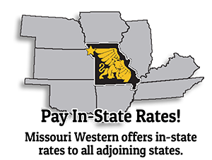 Pay In-State Rates! Missouri Western offers in-state rates to all adjoining states.