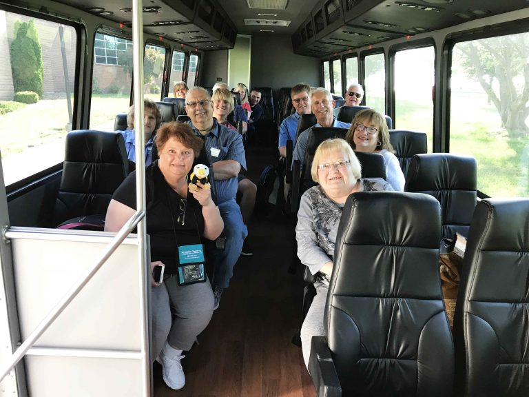 The group of 15 alumni depart for Israel from Kansas City