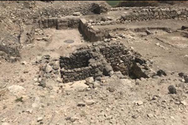 Ruins at Tel Megiddo (Armageddon)