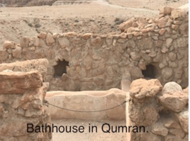 Bathhouse in Qumran
