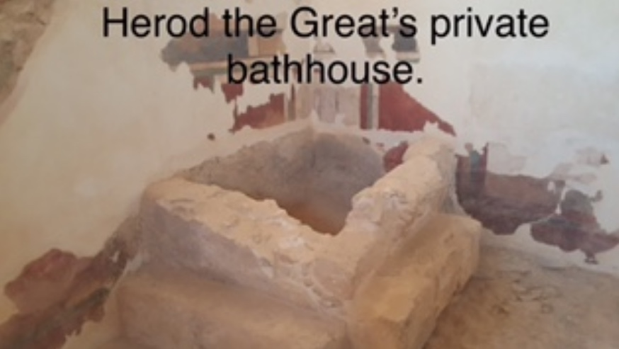 Herod the Great's private bathhouse