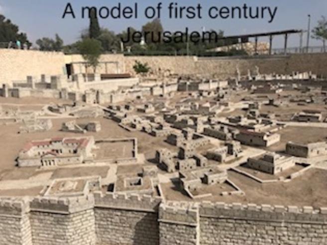 A model of first century Jerusalem