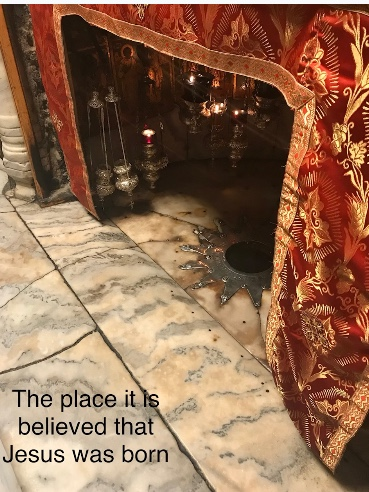 The place it is believed that Jesus was born