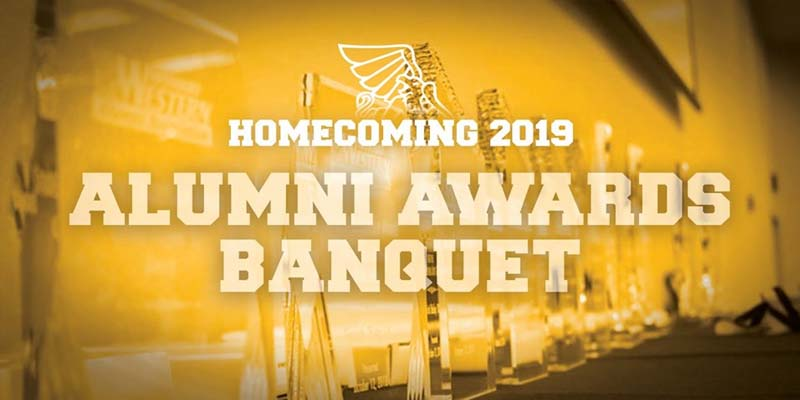 Homecoming 2019 Alumni Awards Banquet