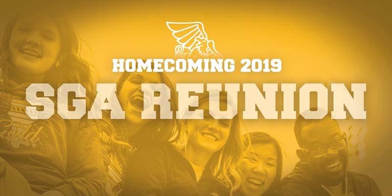 Homecoming 2019 SGA Reunion