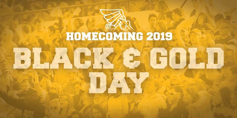 Homecoming 2019 Black and Gold Day