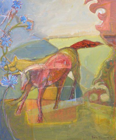 Ponies Kaleid by Beth Barnett