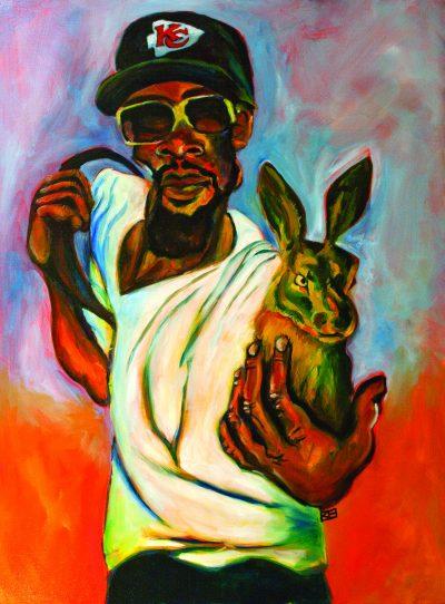 Rabbit in Hand by Kwanza Humphrey