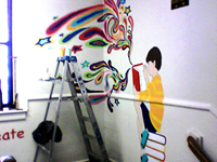 Wall mural for Murals for Minds