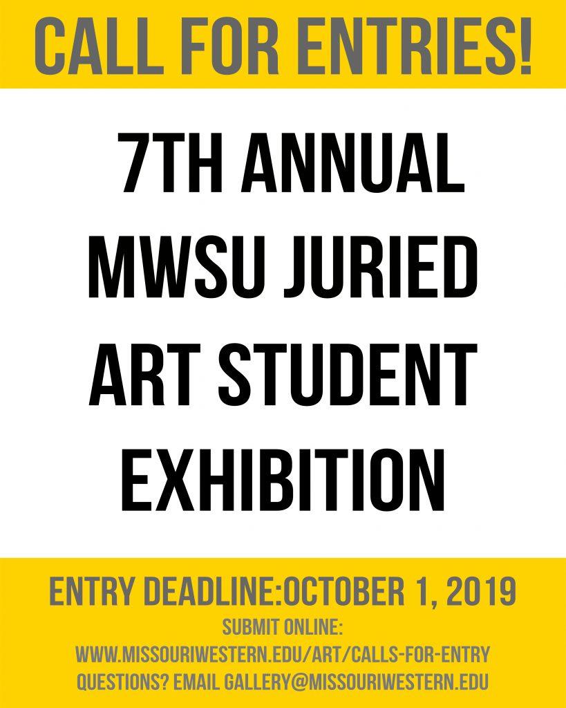 Call For Entries MWSU Juried Art Exhibit
