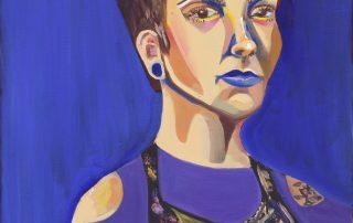Self Portrait by Katie Frazee
