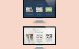 Golden Hour Website, by Ashley James
