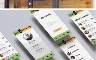Identity and mobile UI design.
