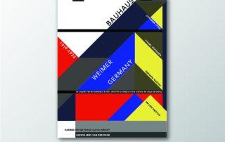Butler BAUHAUS Typeface Poster