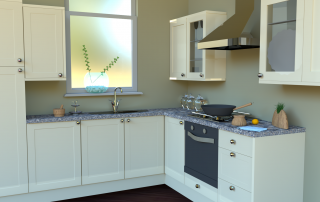 Kitchen, by Alexis Meyer