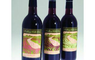 Butler Rolling Hills Wine Wine Bottles-