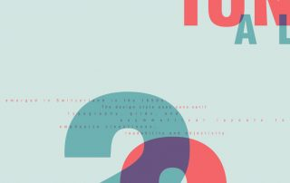 Davis Swiss Design Poster