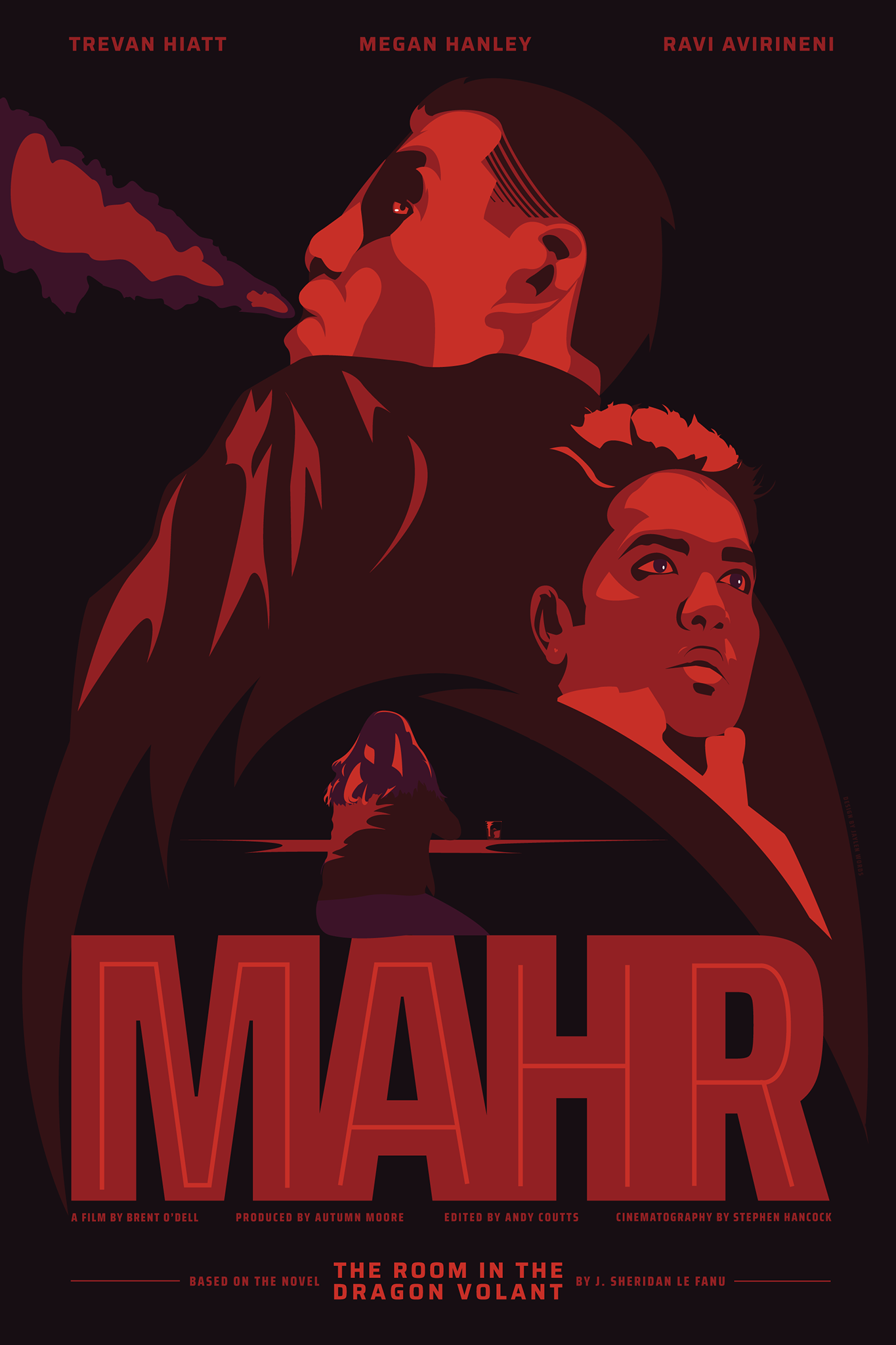 a movie poster for the movie mahr