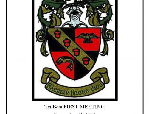 SEP-5 Beta Beta Beta meeting