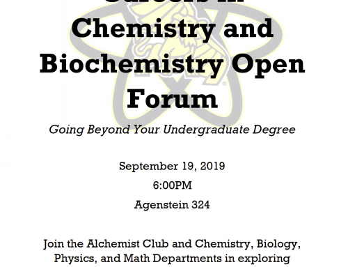 Careers in Chemistry and Biochemistry Open Forum