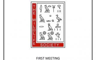 The Wildlife Society Meeting 9.4.19