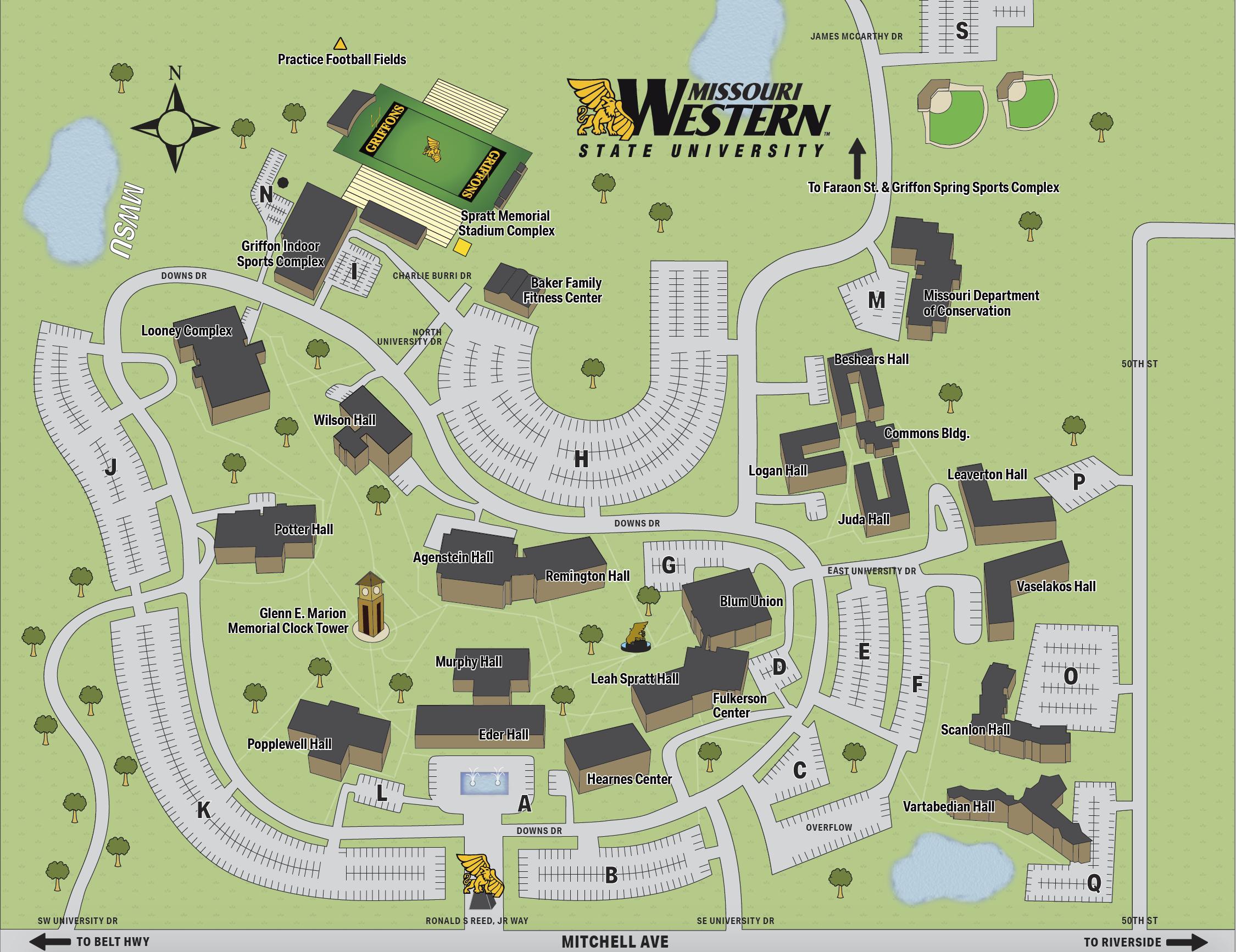 Utown campus map