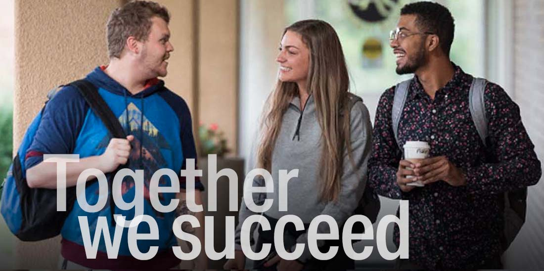 Together we succeed