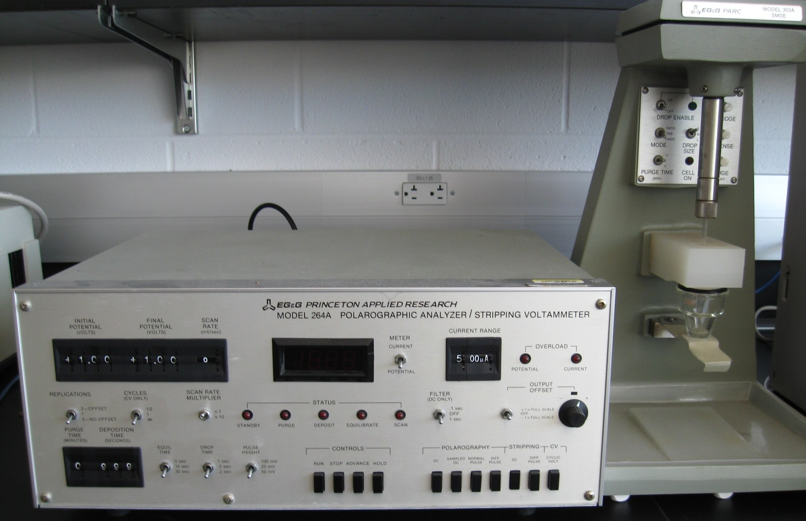EG&G Princeton Applied Research Polarographic Analyzer