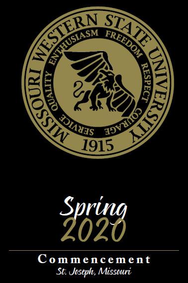 Spring 2020 Commencement Program