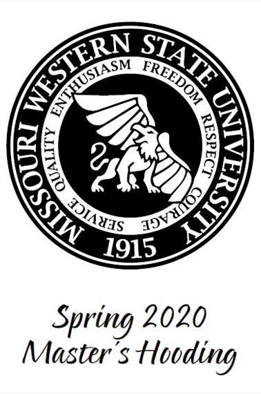 Spring 2020 Master's Hooding Program