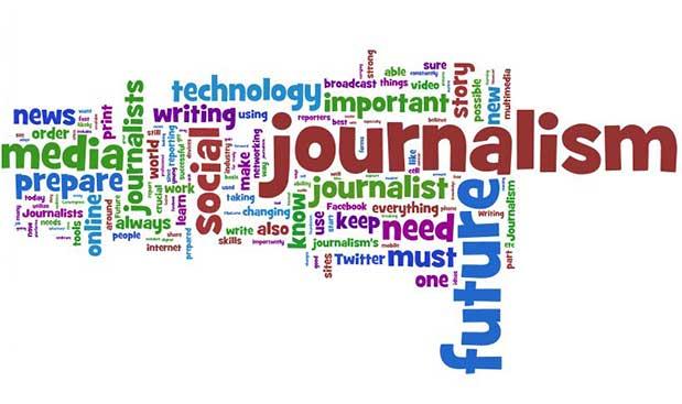 journalism word cluster