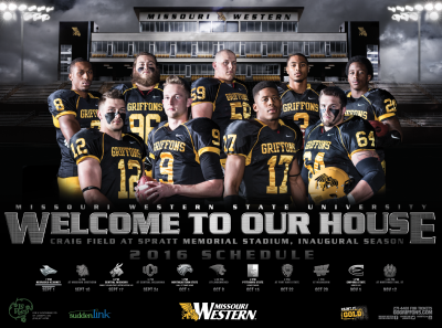 Football Schedule poster