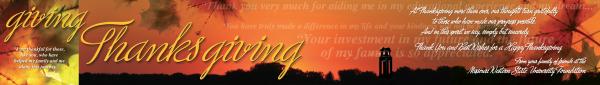 Thanksgiving Foundation piece
