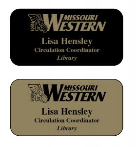 Sample name badges