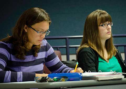 MWSU students in the classroom