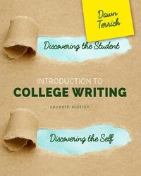 Discovering the Student, Discovering the Self: Introduction to College Writing textbook cover