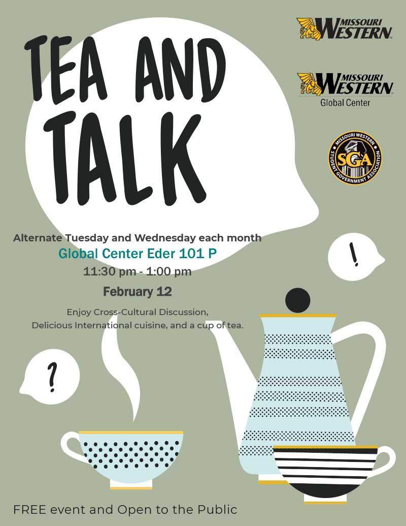 Tea and Talk flyer