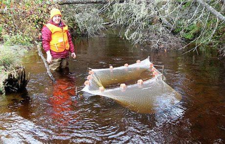 Ashley Elias - river research