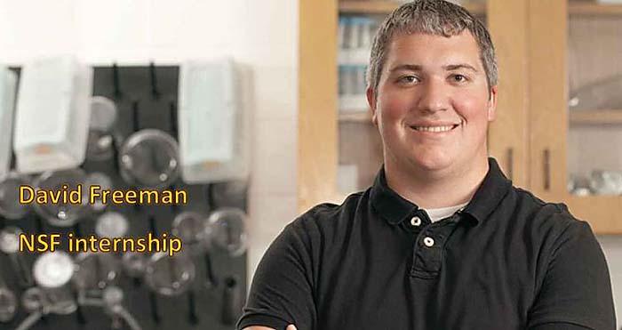 David Freeman - NSF internship