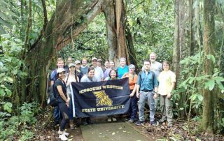 MWSU biology study away trip to La Selva