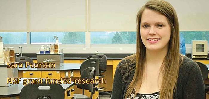 Sara Pearson - NSF grant funded research
