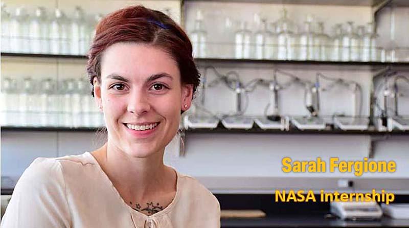 Sarah Fergione - NASA internship