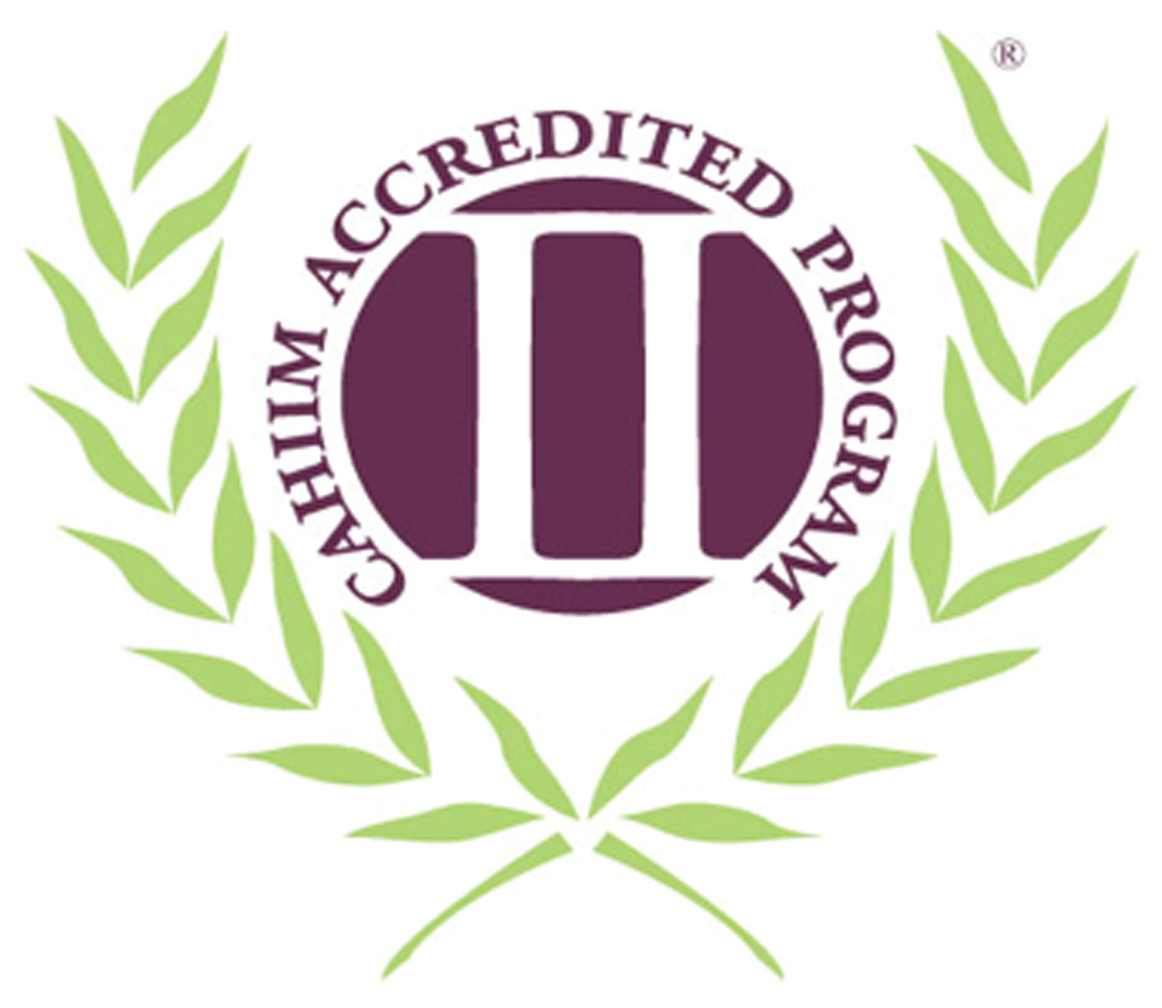 Commission on Accreditation for Health Informatics and Information Management logo