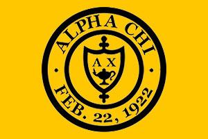 Alpha Chi National Honor Society