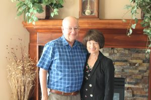 Lyman and Jane Frick