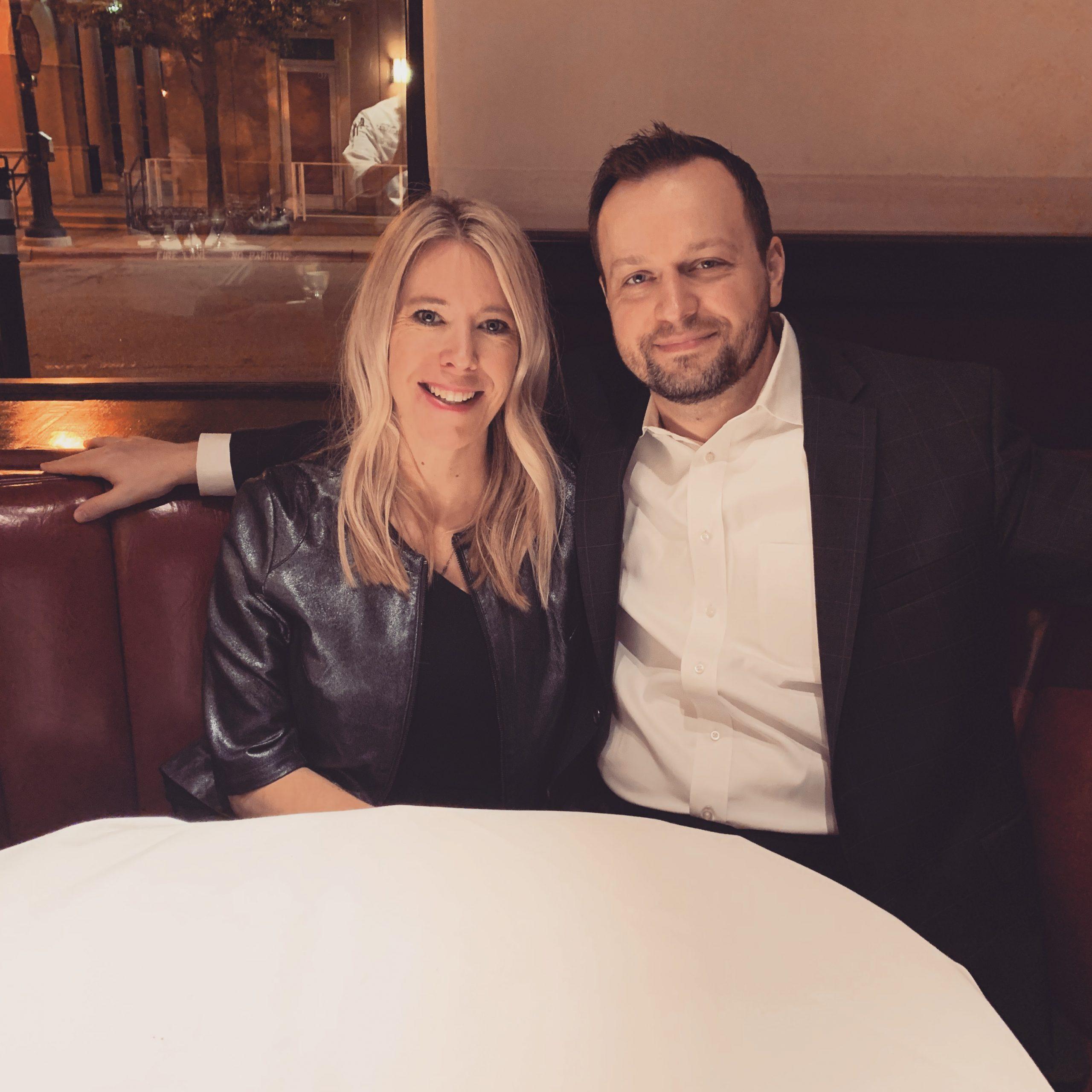 Amanda and Frank Luzsicza