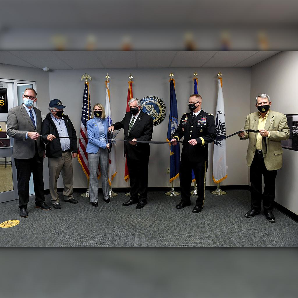 military center ribbon cutting