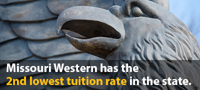Missouri Western has the third lowest tuition rate in the state of Missouri.